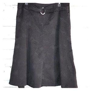 East 5th textured career black skirt sz 18 #286